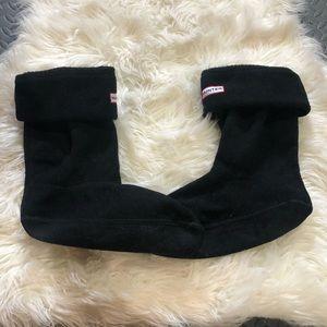 Black short hunter socks